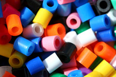 beads färgrik makro Arkivfoton