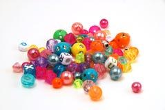 beads färgrikt Royaltyfri Foto