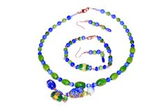 Beads with frog royalty free stock photography