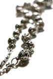 beads gammal rosarie Arkivfoto