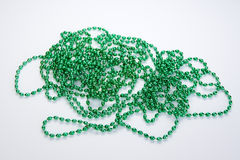 Beads Green Stock Photo