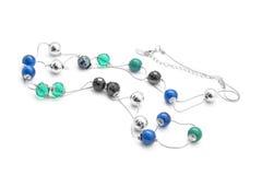 beads halsbandet Arkivfoton