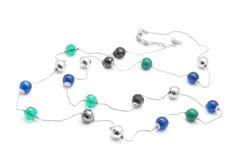 beads halsbandet Royaltyfria Bilder