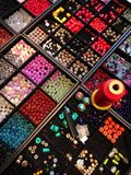 Beads for handicraft Stock Photography