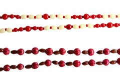 Beads industrial and a handicraft work Stock Photography