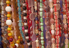 Beads jewellery abstact Stock Photo
