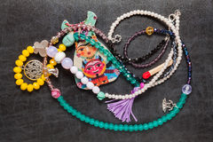 Beads & Jewelry Royalty Free Stock Photography