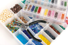 Beads for Jewelry Making Stock Images