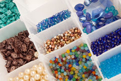 Beads for Jewelry Making Royalty Free Stock Photo