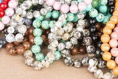 Beads jewelry. stock photography