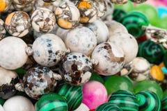 Beads jewelry. stock image