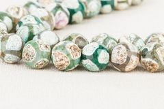 Beads jewelry. Royalty Free Stock Photos