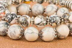Beads jewelry. Stock Images