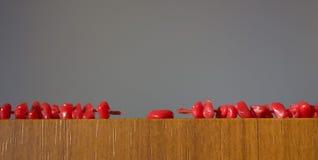 beads korall Royaltyfria Foton