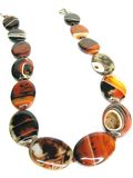 beads ljusa smycken Royaltyfria Bilder