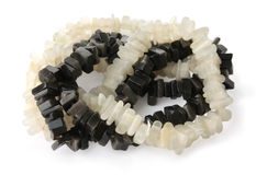 Beads made of onyx with Stock Images