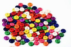 Beads multicolored Stock Image