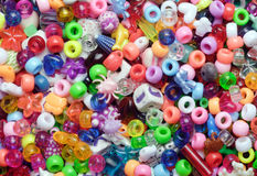Beads, multicoloured Royalty Free Stock Photos