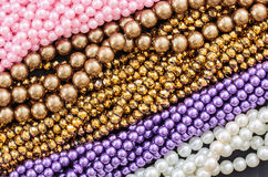 Beads necklace Royalty Free Stock Images