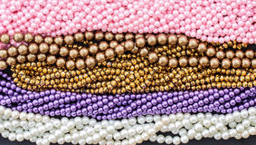 Beads necklace Stock Photo