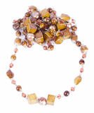 Beads necklace jewelry Stock Photos