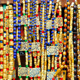 Beads necklaces Royalty Free Stock Image