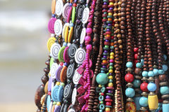 Beads necklaces Royalty Free Stock Photos