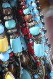 Beads necklaces Stock Photos