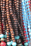 Beads necklaces Stock Image