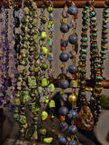 Beads and necklaces Stock Images