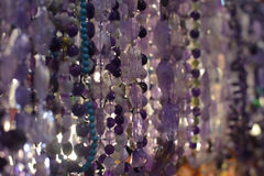 Beads and necklaces Royalty Free Stock Photo