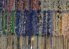 Beads and necklaces Royalty Free Stock Photos