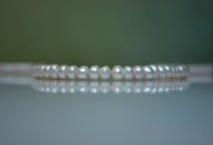 beads old pearl Zdjęcia Royalty Free