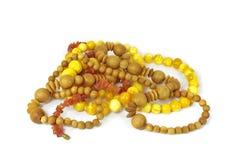 beads olikt mycket Royaltyfria Bilder