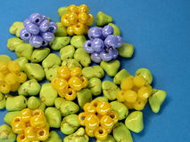 Free Beads Pattern Royalty Free Stock Photography - 27861427