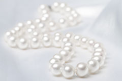 Beads from pearls Stock Images