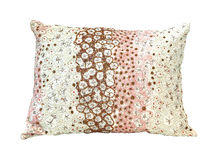 Beads pillow Royalty Free Stock Images