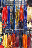 Beads for prayer. Prayer beads to mark repetitions of prayers Royalty Free Stock Photos