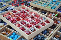 Beads for sale Stock Image