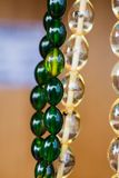 Beads of the same type and color Stock Photo