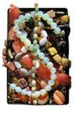beads samlingen Royaltyfri Foto
