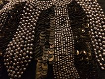 beads sequins Royaltyfri Bild