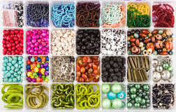 Beads set Royalty Free Stock Images