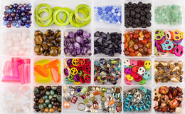Beads set Stock Images