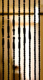 Beads Silhouette Royalty Free Stock Photography