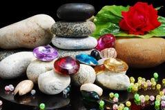 Beads & stones Royalty Free Stock Photos