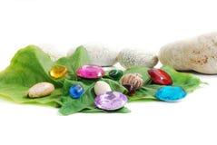 Beads & stones Royalty Free Stock Image