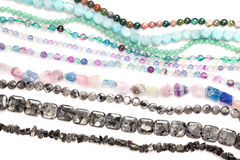 Beads strands stock images