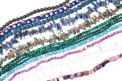 Beads strands Stock Photos