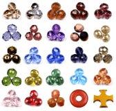 beads tjeckiskt exponeringsglas Royaltyfria Foton